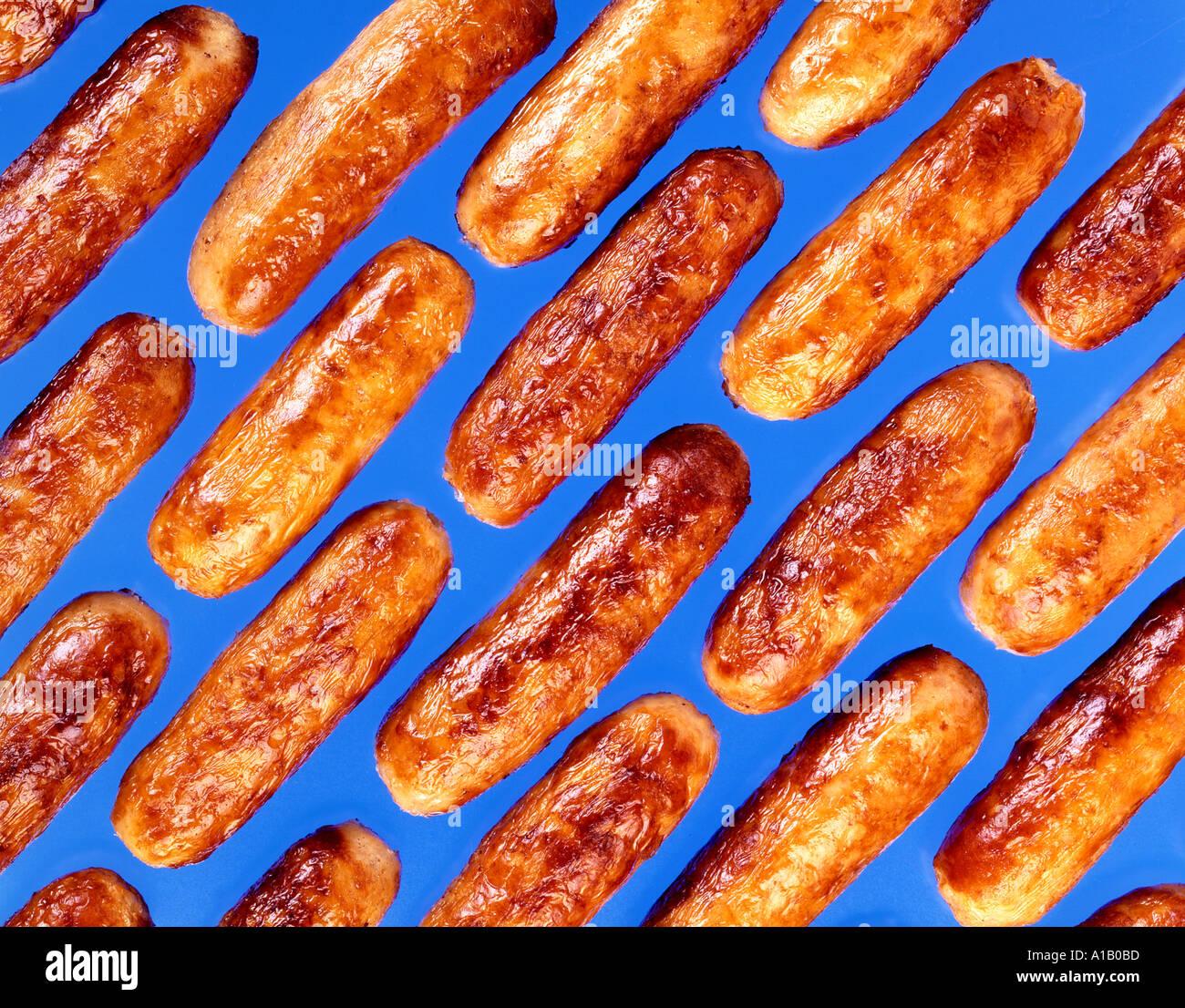 Salsicce Immagini Stock