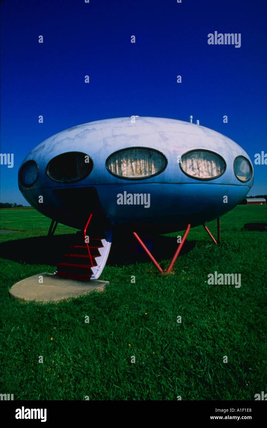 Casa di astronave Immagini Stock