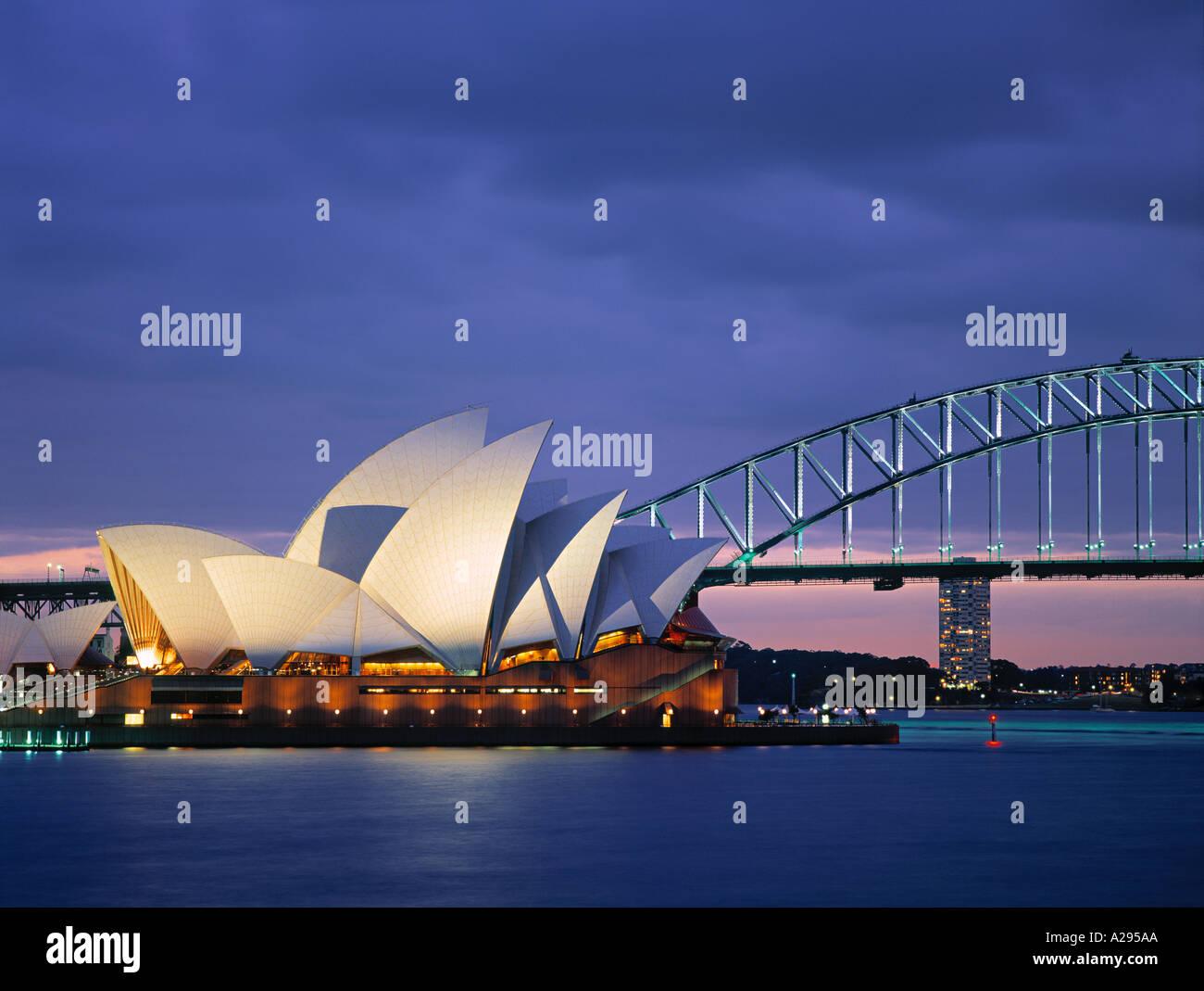 Opera House di Sydney, NSW, Australia Immagini Stock