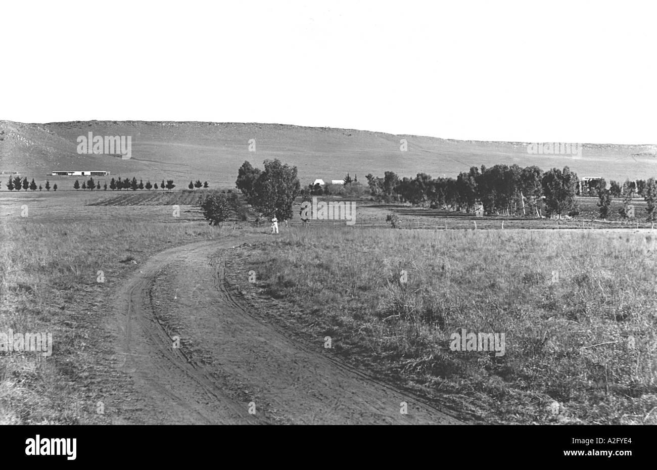 Il campus di Tolstoj Farm Sud Africa Immagini Stock