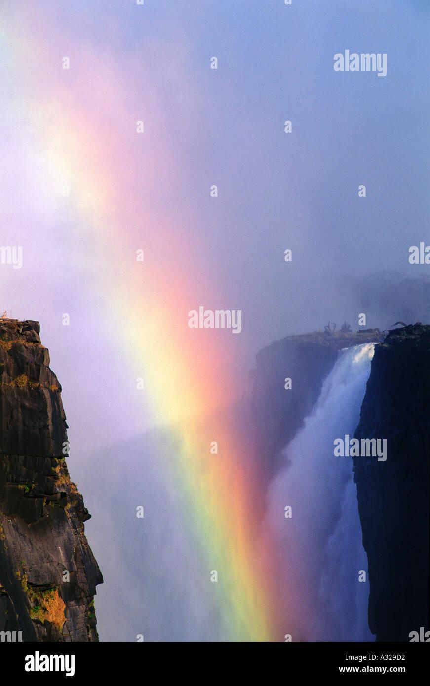 Victoria Falls Zimbabwe Immagini Stock