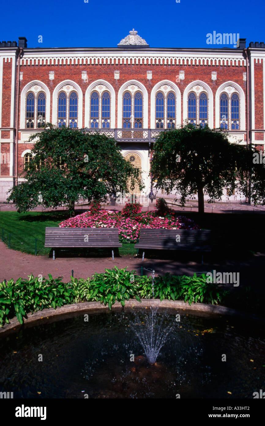 La Casa della Nobiltà progettato dall architetto Georg Theodor Chiewitz 1862 Helsinki Finlandia Immagini Stock