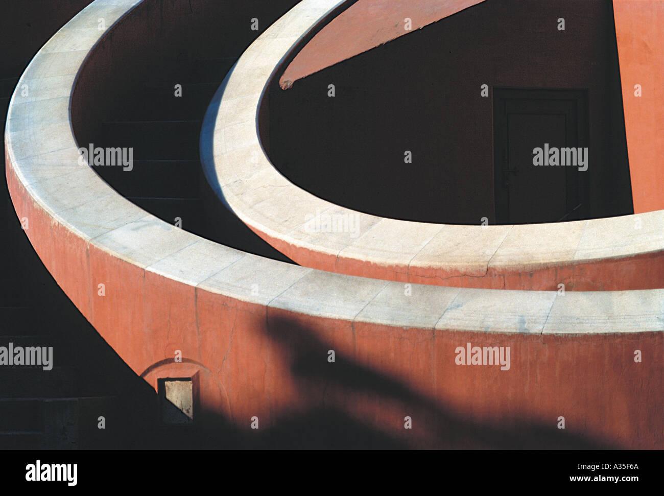 AMA JM09 Jantar Mantar osservatorio astronomico Delhi India Immagini Stock