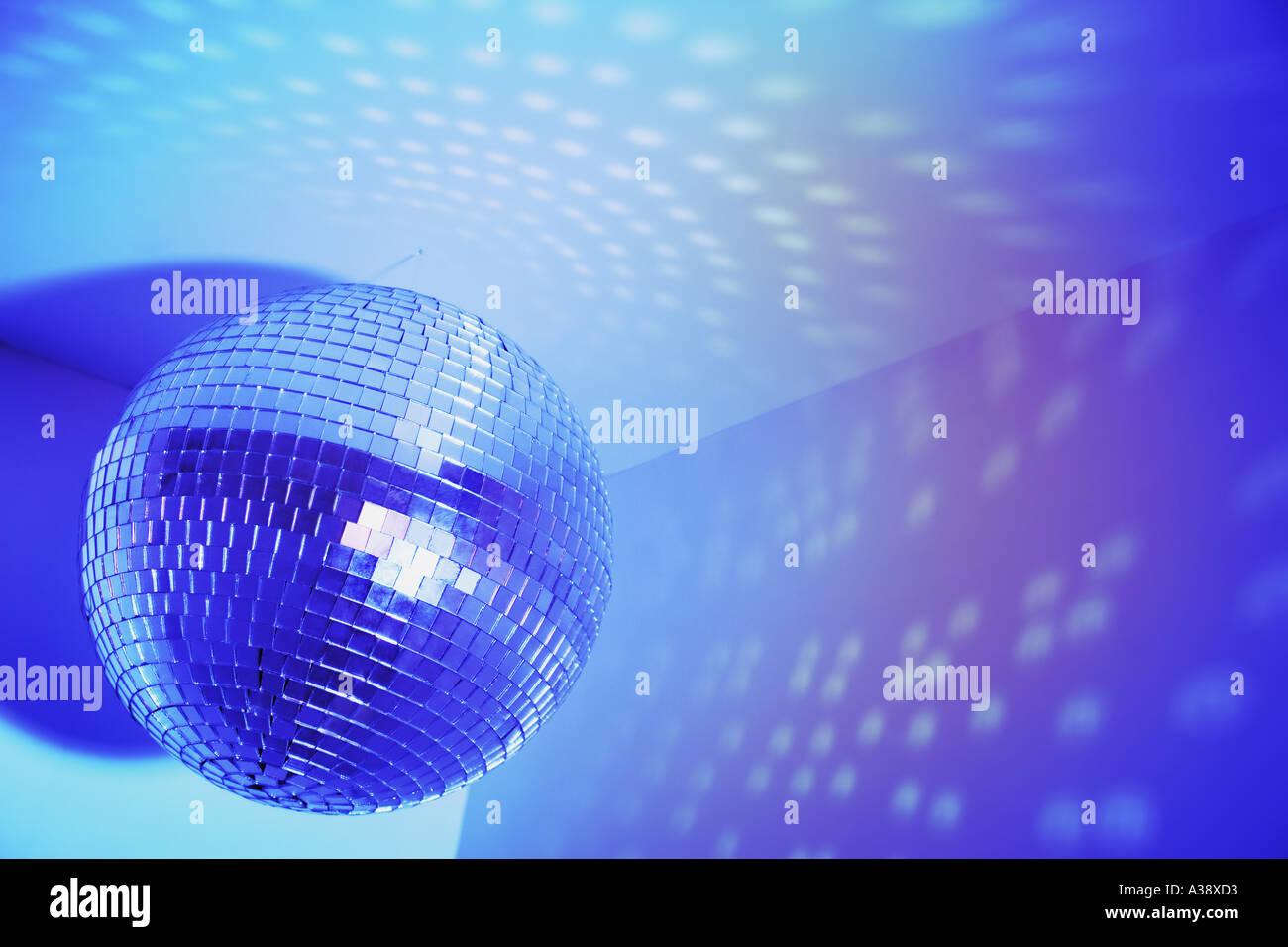 Discoteca glitter ball Immagini Stock