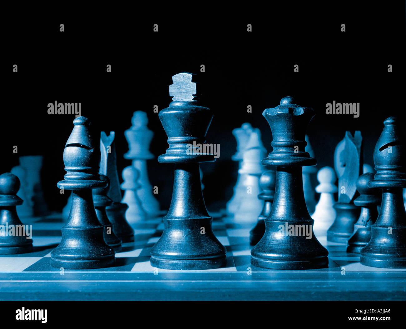scacchiera Immagini Stock