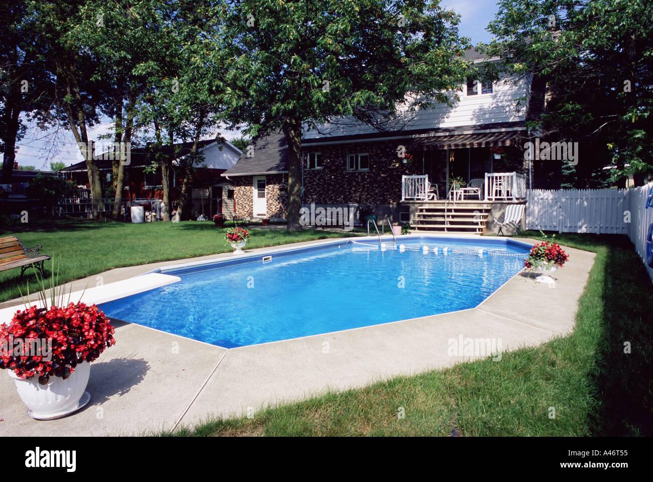 Piscina in giardino o sul terrazzo il dell immobiliare san