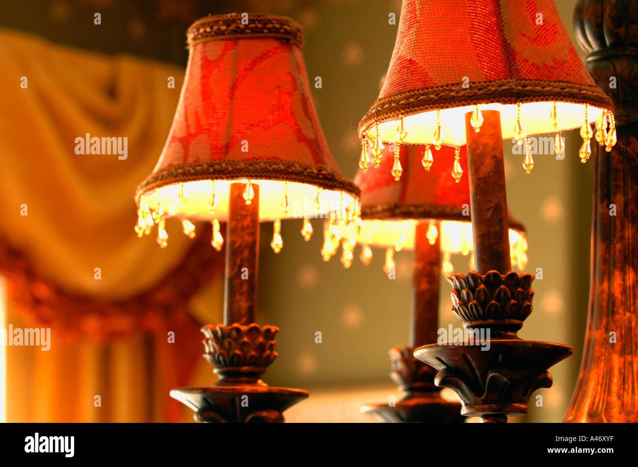 Lampade stile vittoriani Immagini Stock