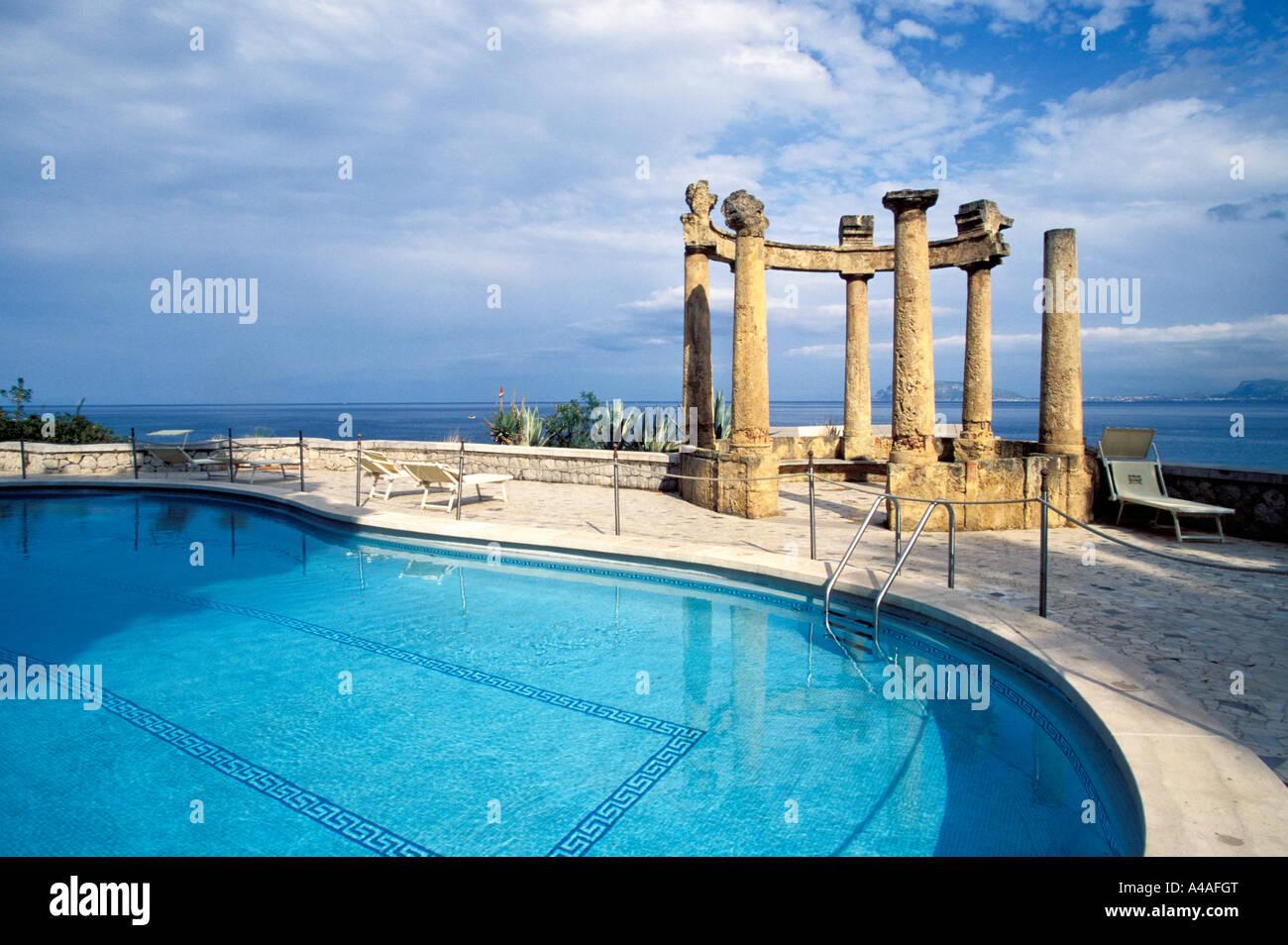 Il Grand Hotel Villa Igiea Palermo Sicilia Italia Foto stock - Alamy