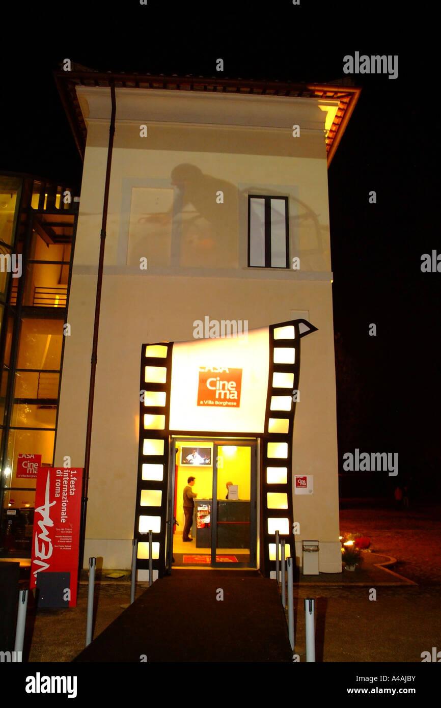 La casa del cinema Roma Festival Internazionale del Film di Roma Lazio Italia Immagini Stock