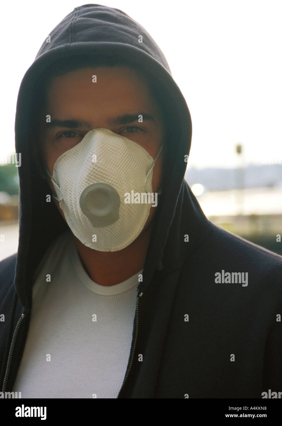 maschera antipolvere naso
