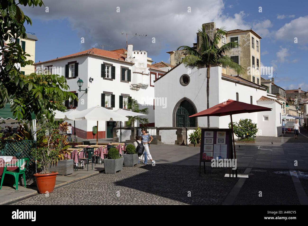 Funchal Città Vecchia, di Madera Immagini Stock