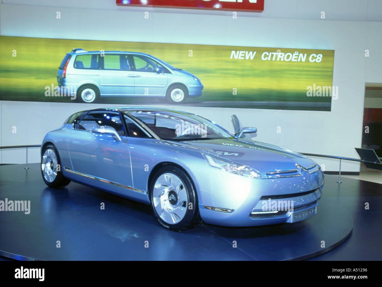 2002 Citroen C Airdream concept car Immagini Stock
