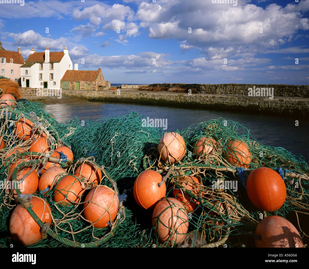 GB - Scozia: Pittenweem Harbour Immagini Stock