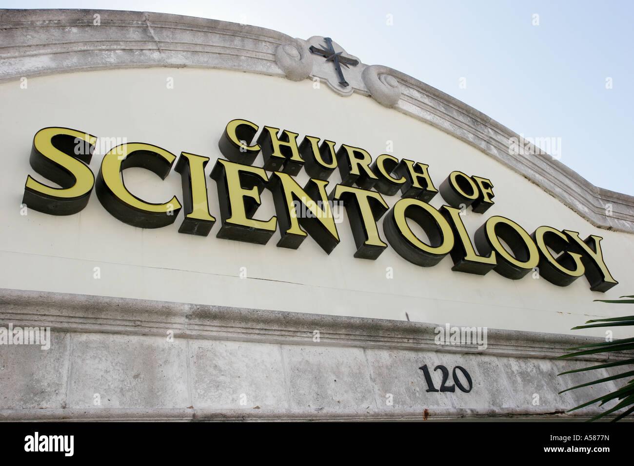 La Credenza Religiosa : Coral gables miami florida chiesa di scientology entrata segno