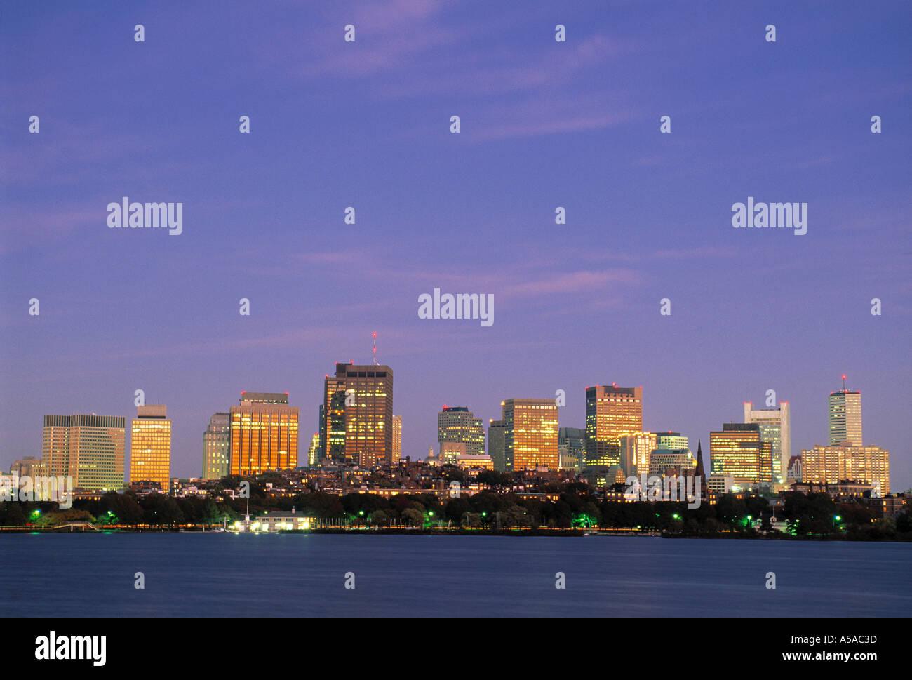 Boston, Massachusetts, STATI UNITI D'AMERICA Immagini Stock