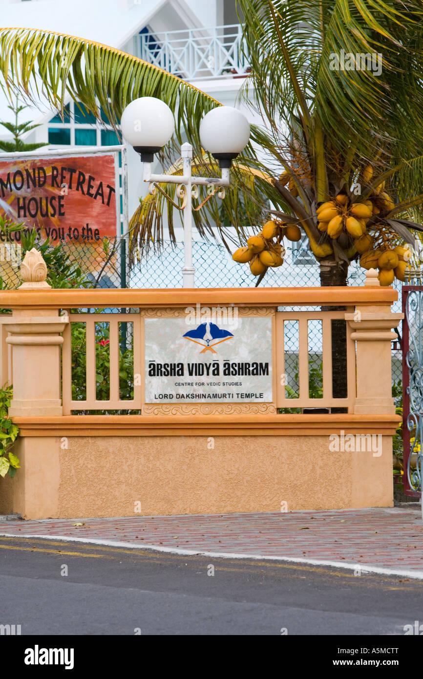 """""""Centro di Studi Vedica e Retreat' in 'Mauritius' Immagini Stock"""