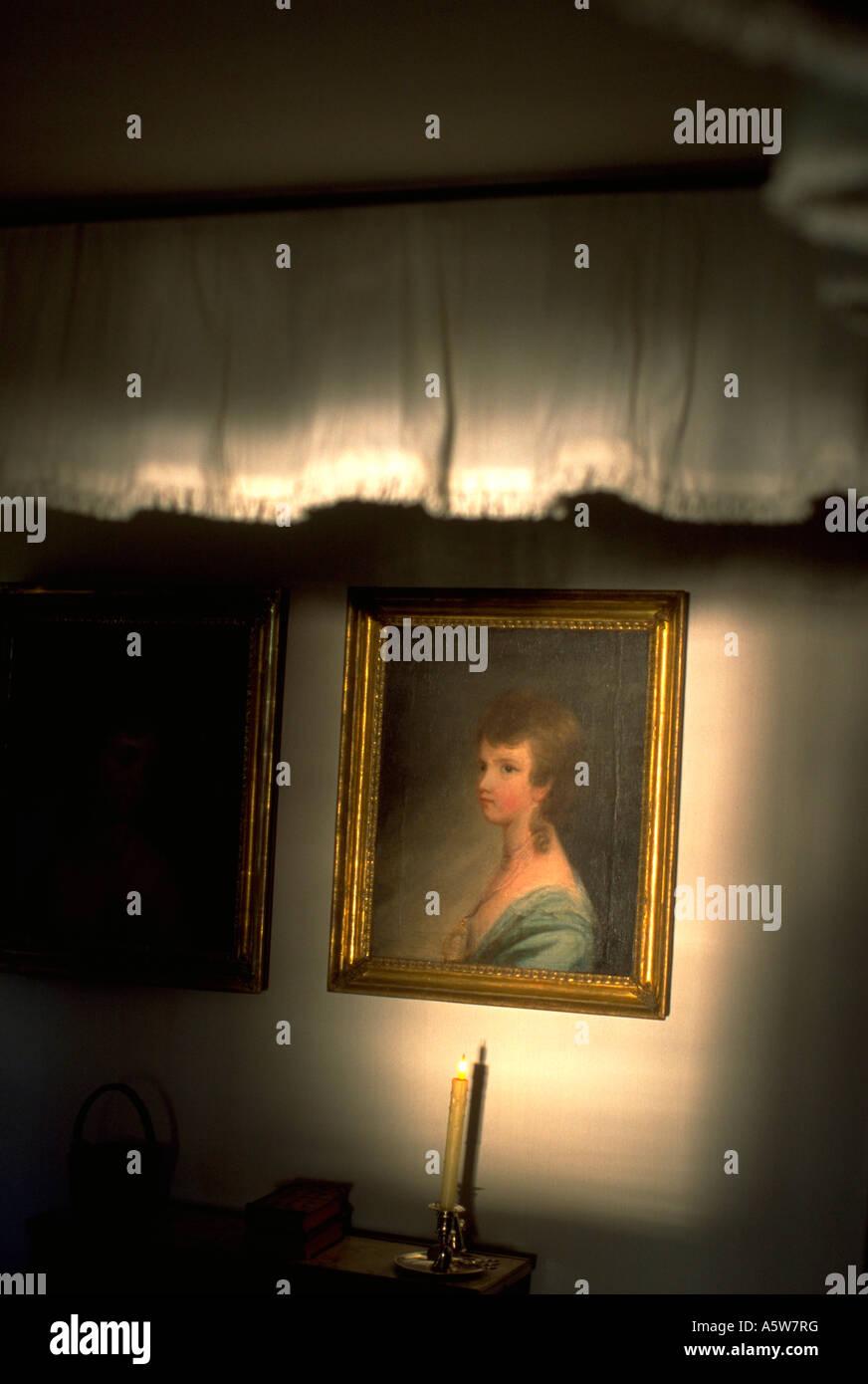 Painet hl0452 George Washington nipote di pittura camera ...