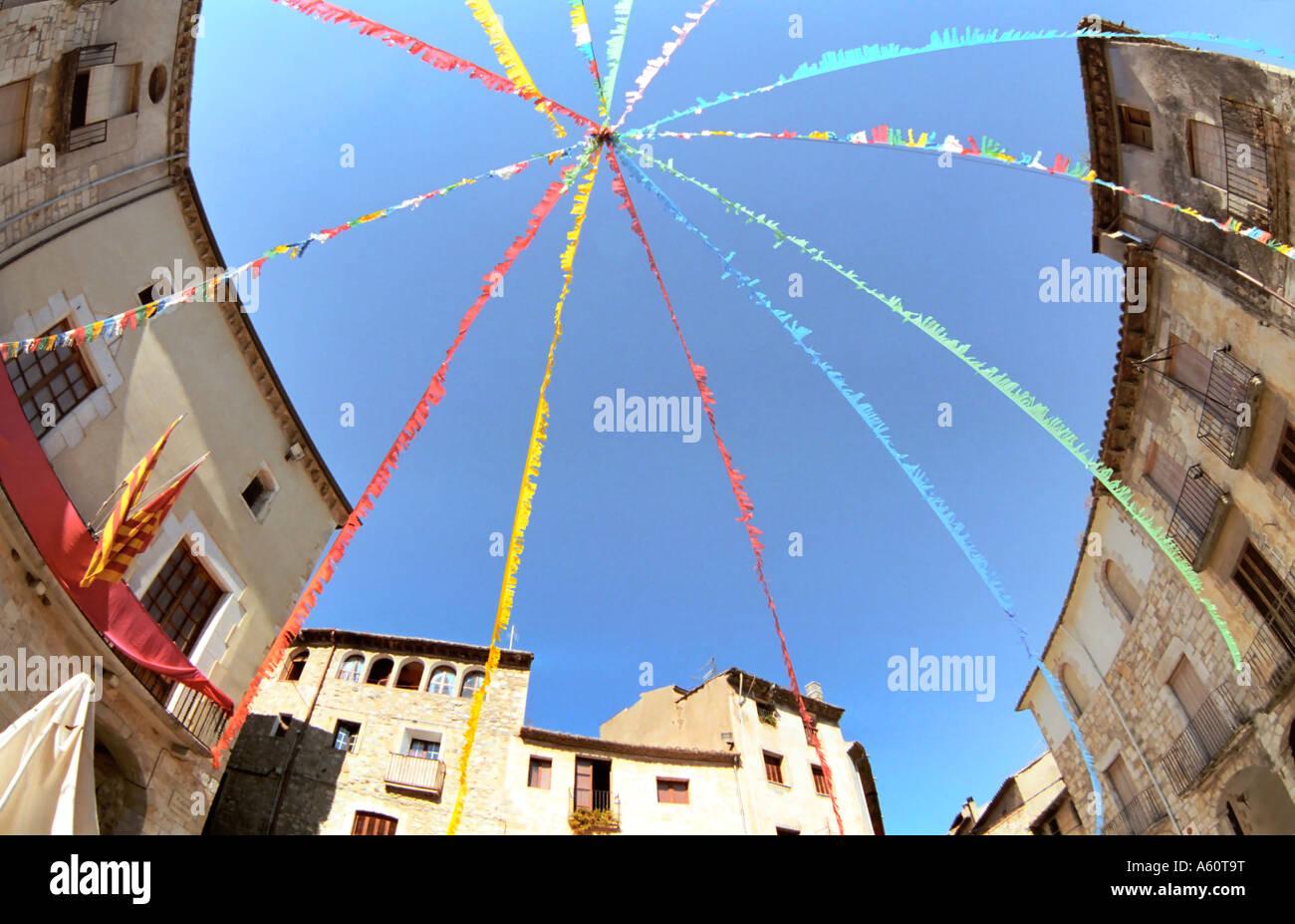 Besalu Catalogna Spagna Immagini Stock