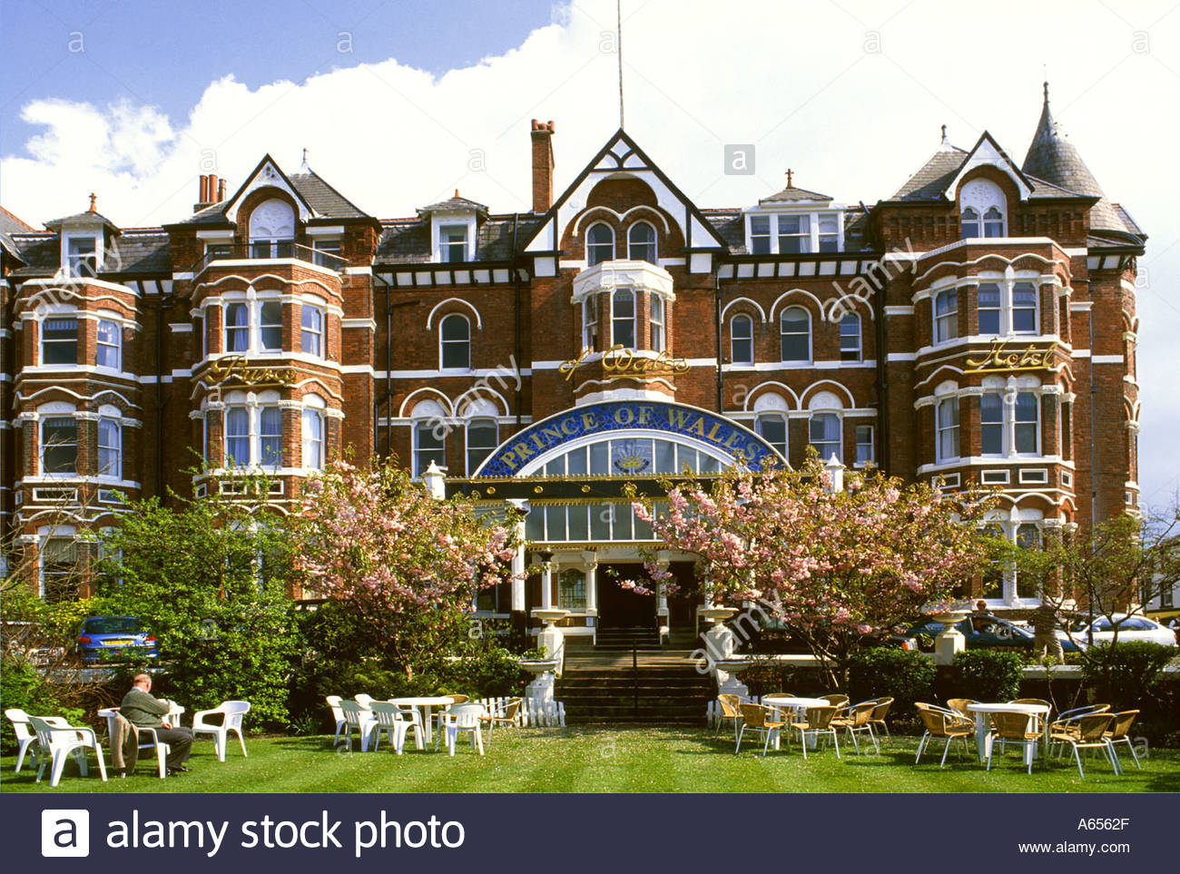 Prince of Wales Hotel Lord Street, Southport, Merseyside England, Regno Unito Immagini Stock