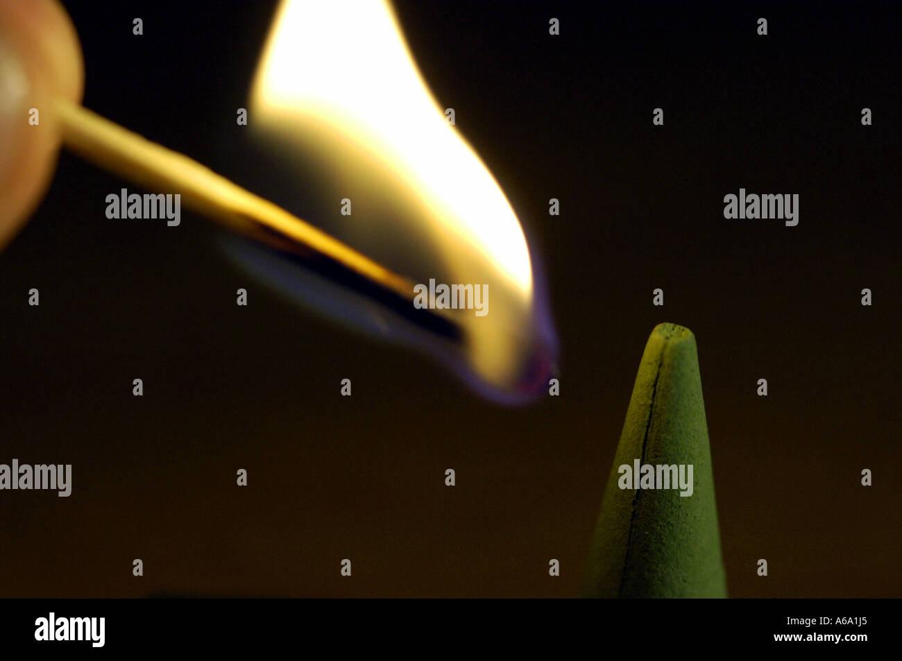 Match Matchstick Fuoco Di Fiamma Di Combustione Bruciano