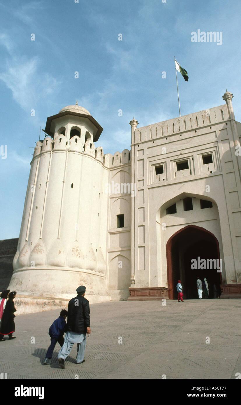 Il Pakistan Punjab Lahore Lahore Fort gateway Foto Stock