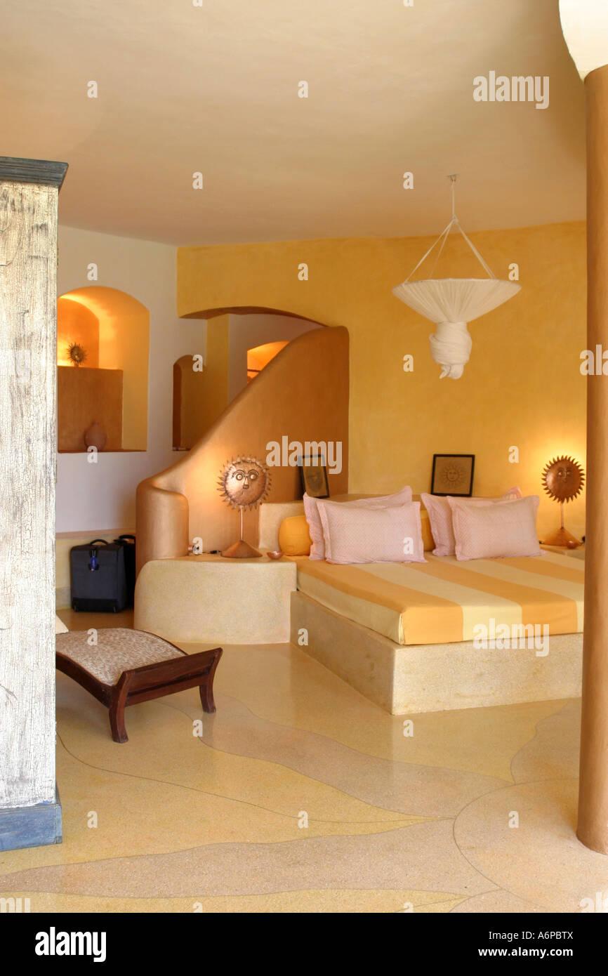 """La """"Sala delle nazioni unite ' suite presso il Nilaya Hermitage Hotel sulle colline pedemontane al di fuori Immagini Stock"""