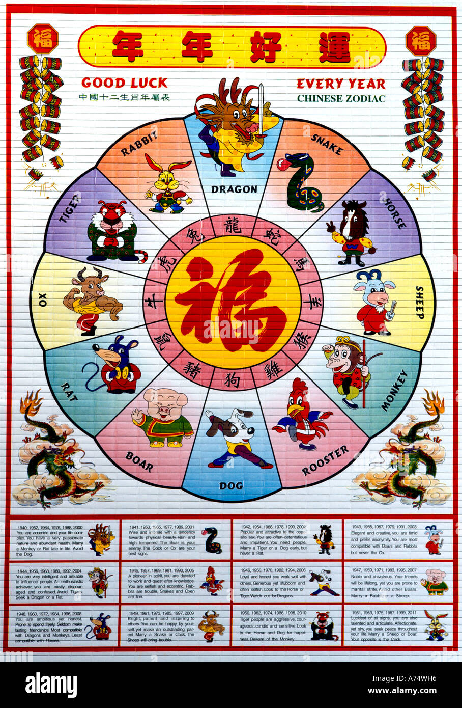 Calendario Cinese 1994.Chinese Calendar Immagini Chinese Calendar Fotos Stock Alamy