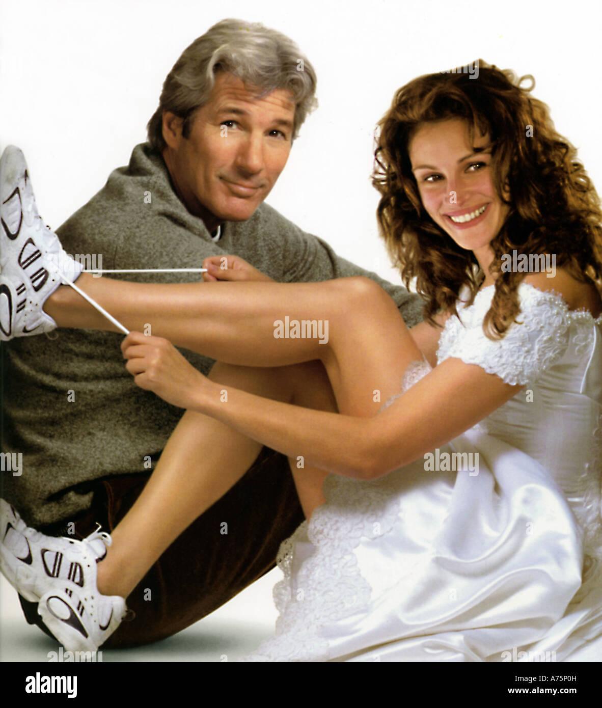RUNAWAY sposa 1999 Paramount commedia romantica film con Richard Geere e Julia Roberts Immagini Stock