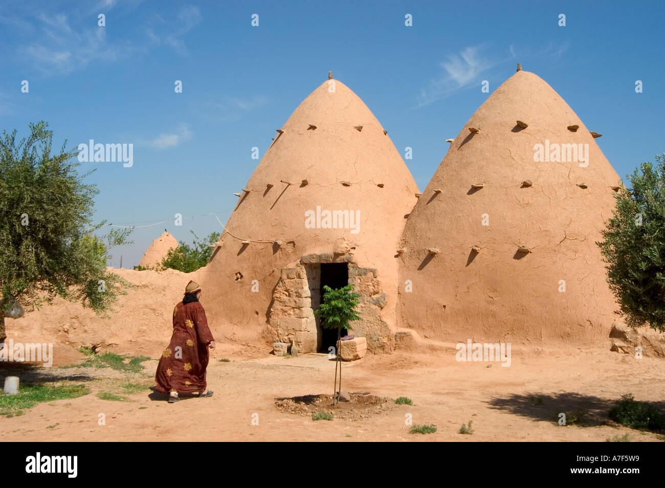 Case Di Mattoni Di Fango : Donna locale alveare di mattoni di fango e di costruire le case di