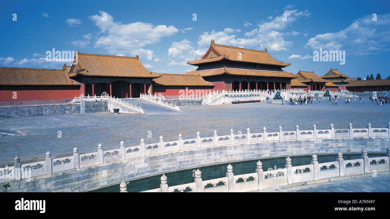 Città proibita,Beijing, Cina Immagini Stock