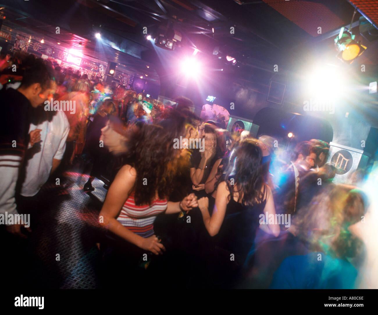 Interno di un night club REGNO UNITO Immagini Stock