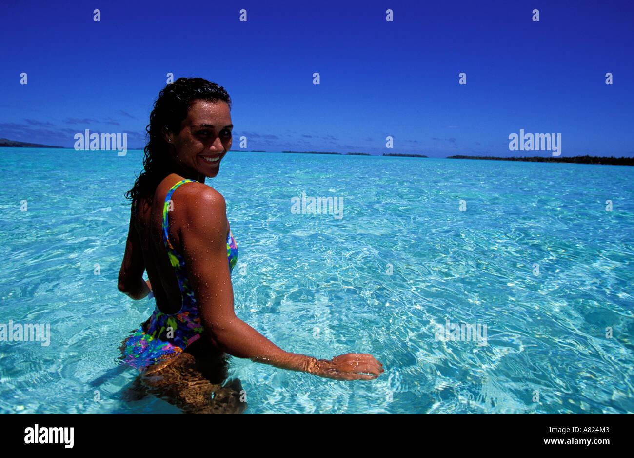 Francia, Polinesia francese, Tahaa island, Vahine island
