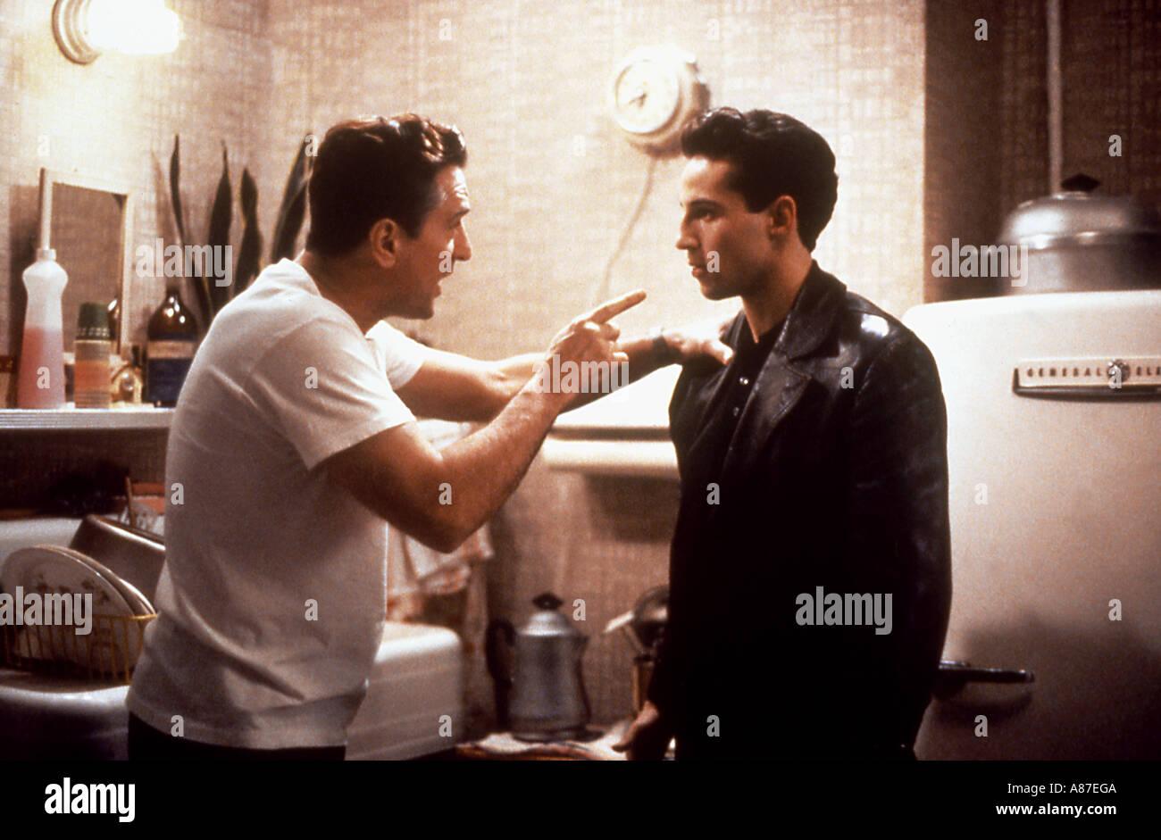 BRONX TALE 1993 Rank film con Robert DeNiro a sinistra Immagini Stock
