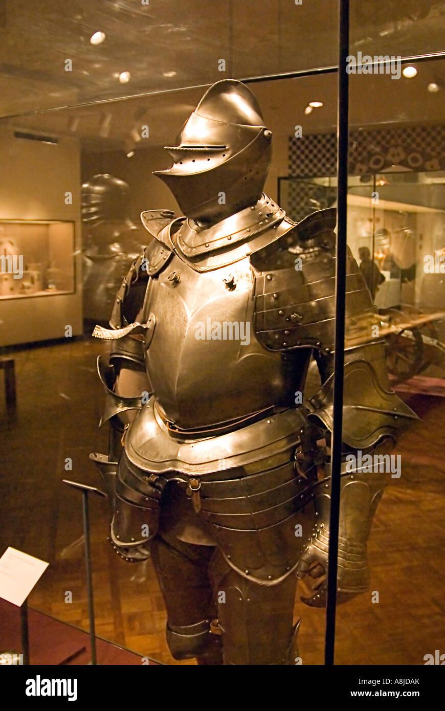 Campo museo Armor Immagini Stock