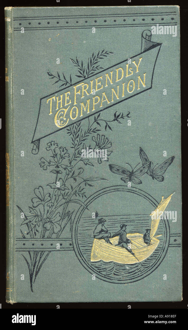 La copertina del libro, l'Amica, Volume 49 Immagini Stock