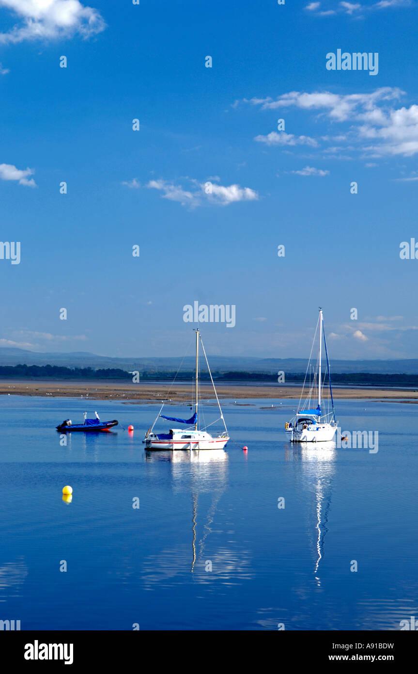 Findhorn Bay Morayshire Grampian Regione Immagini Stock