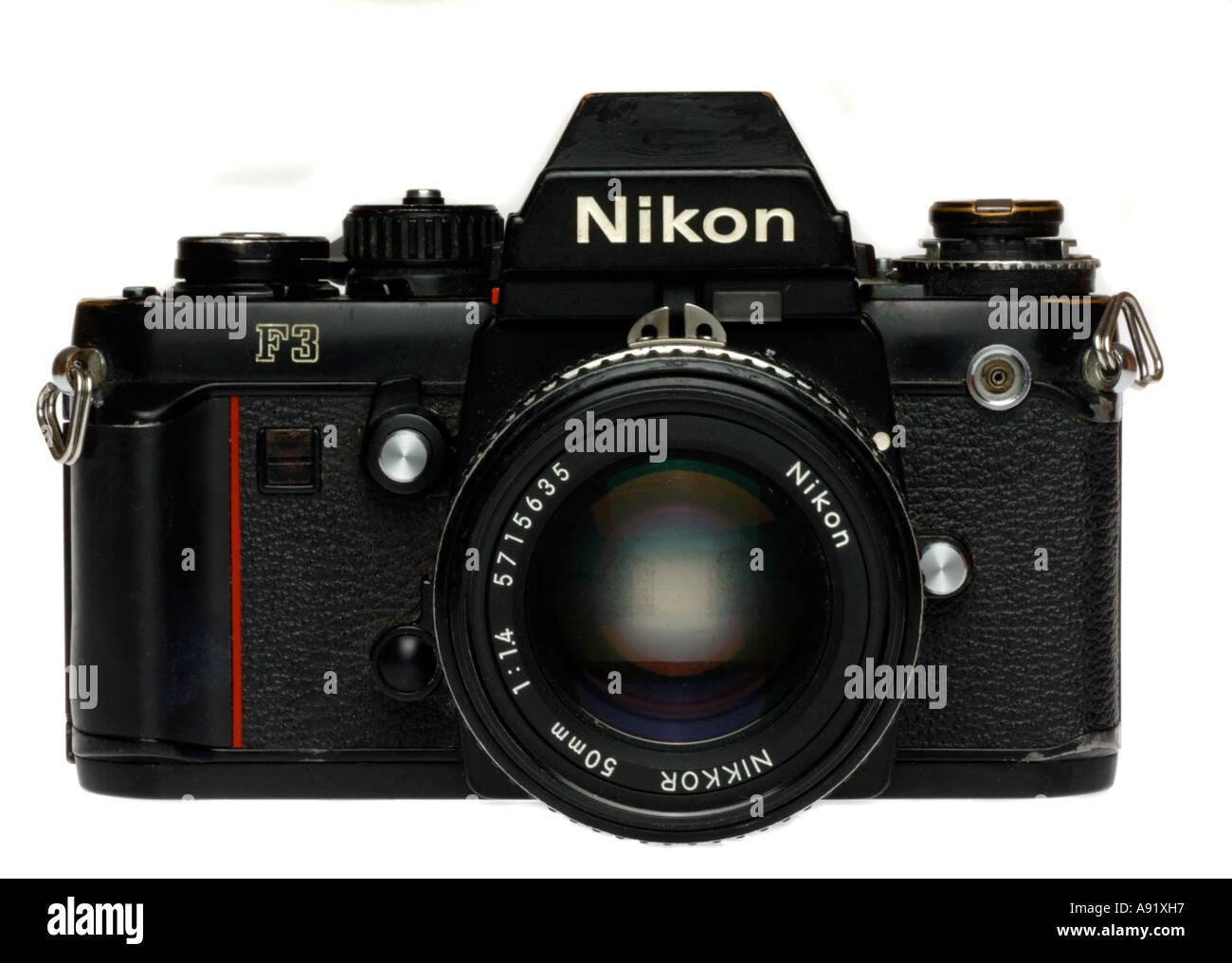 Fotocamera Nikon F3 Immagini Stock