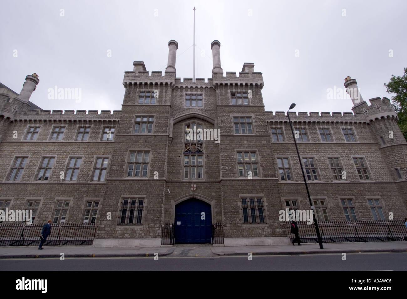 Onorevole Compagnia di Artiglieria Armeria sede House Londra Centrale Immagini Stock