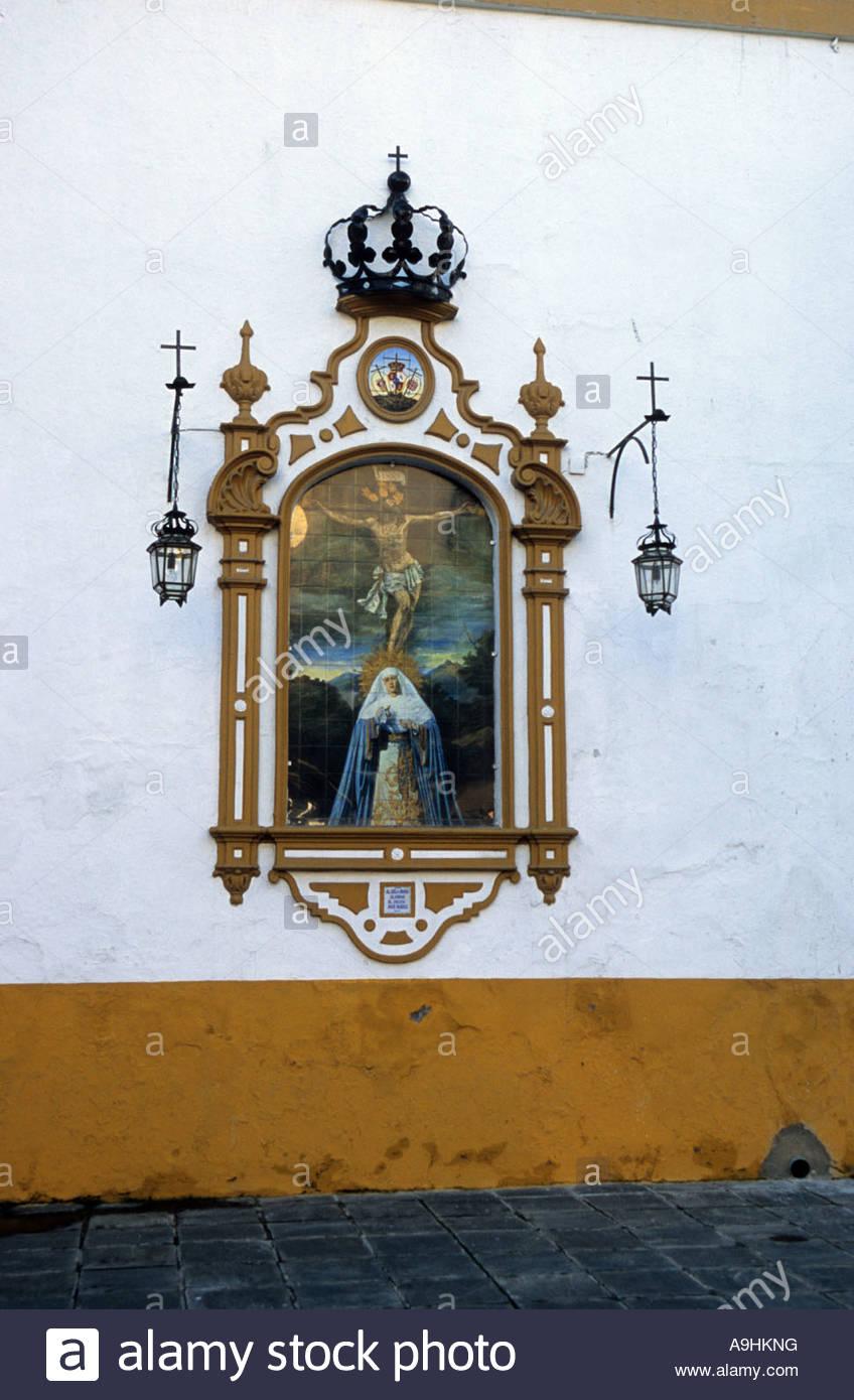 Al Cielo Caosa Alegria El Decir Ave Maria picture Siviglia Immagini Stock