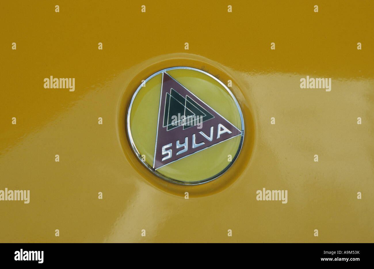 Sylva car badge. Inglese del costruttore di automobili. Sylva auto auto  badge marque British b3f1d89dd6df