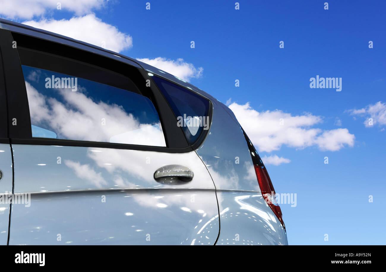 Spostamento viaggi in auto auto automobili turismo ricreativo Immagini Stock