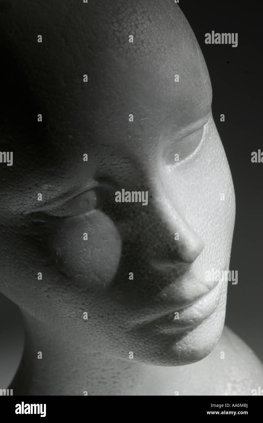 una falsa faccia Immagini Stock