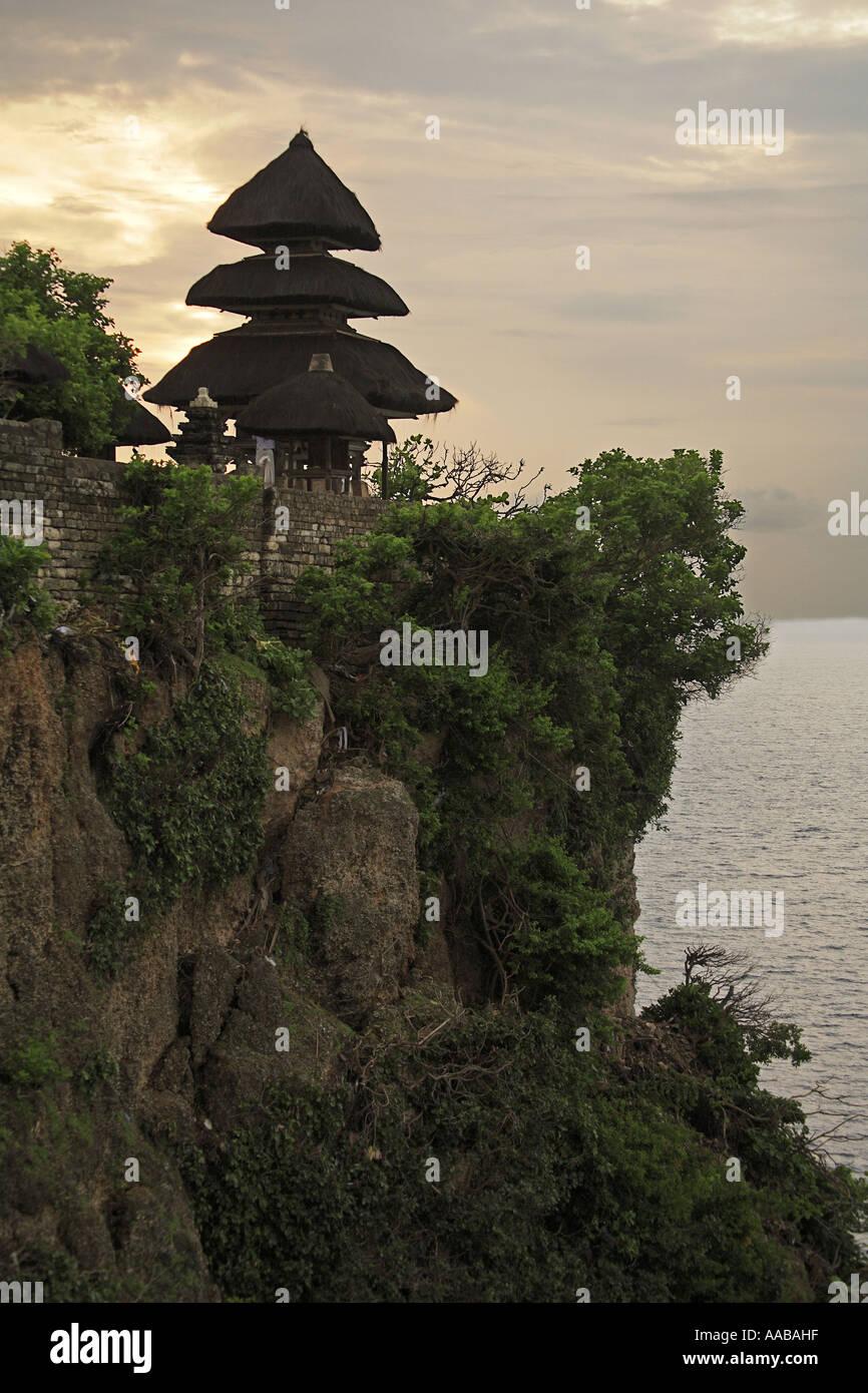 Ulu Watu tempio, Bali, Indonesia Immagini Stock