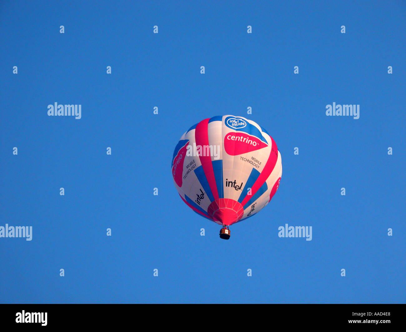 Intel centrino palloncino in aria Immagini Stock