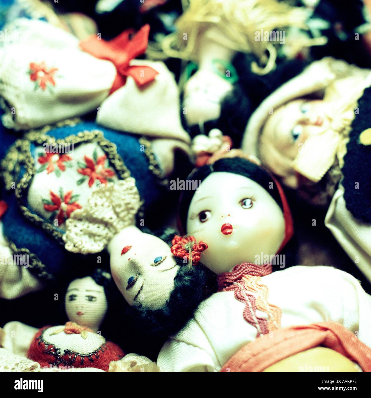 Bambole etniche Immagini Stock