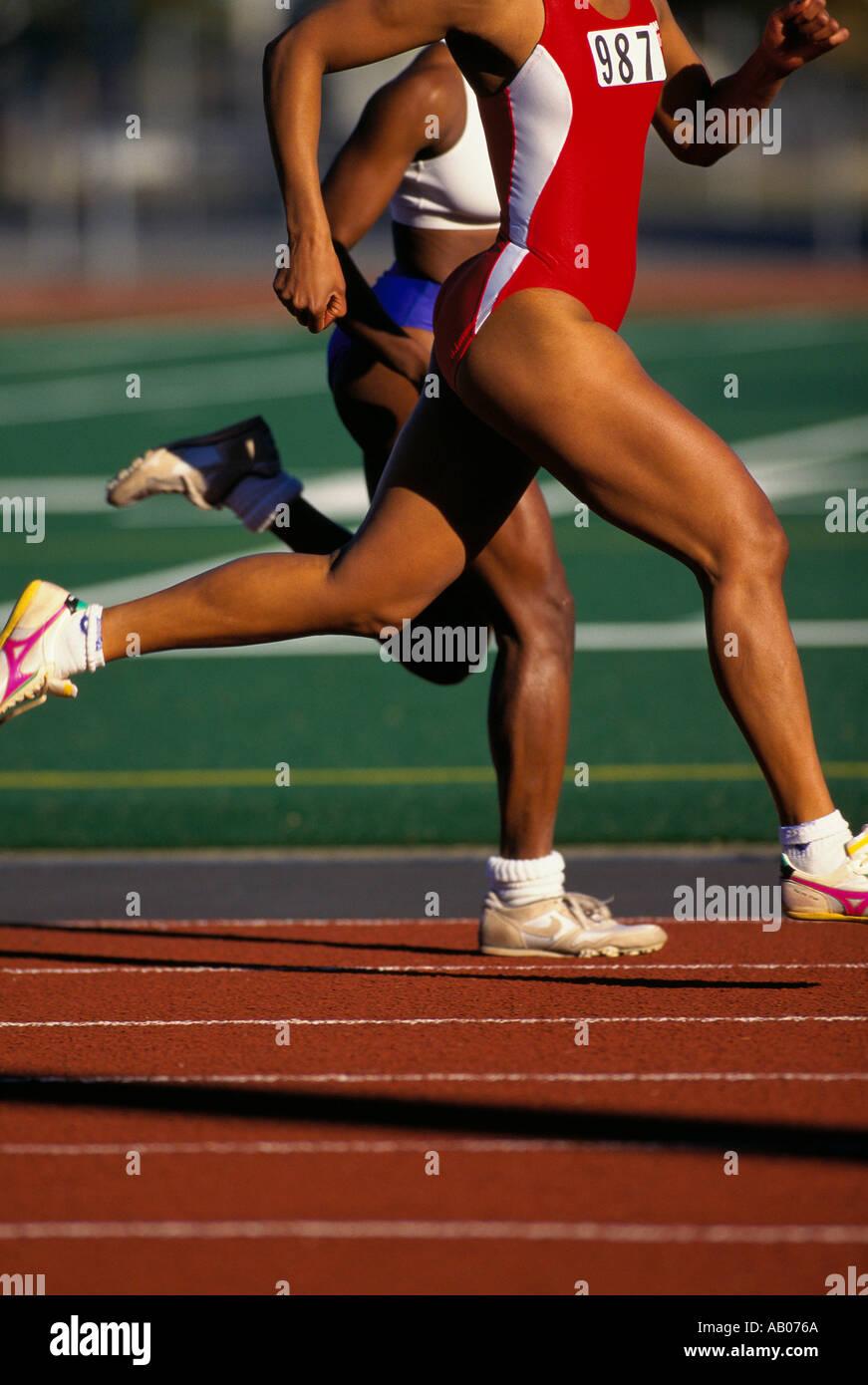 African American Sprinters Immagini & African American Sprinters ...