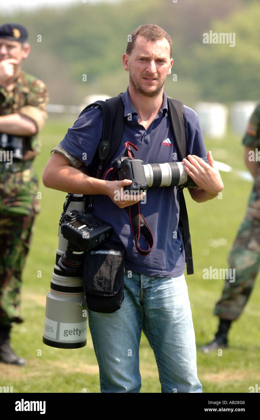 Getty Images photographer di notizie Immagini Stock