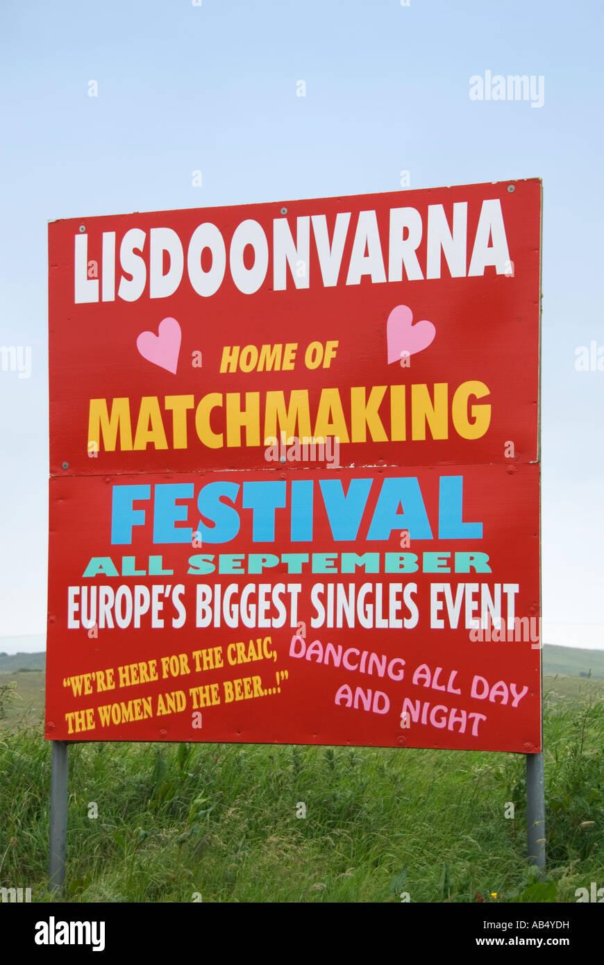 Matchmaking Festival Lisdoonvarna Irlanda datando un ragazzo molto più giovane di te