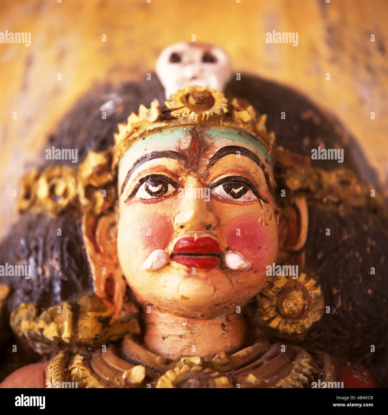 Bambola indiana Immagini Stock