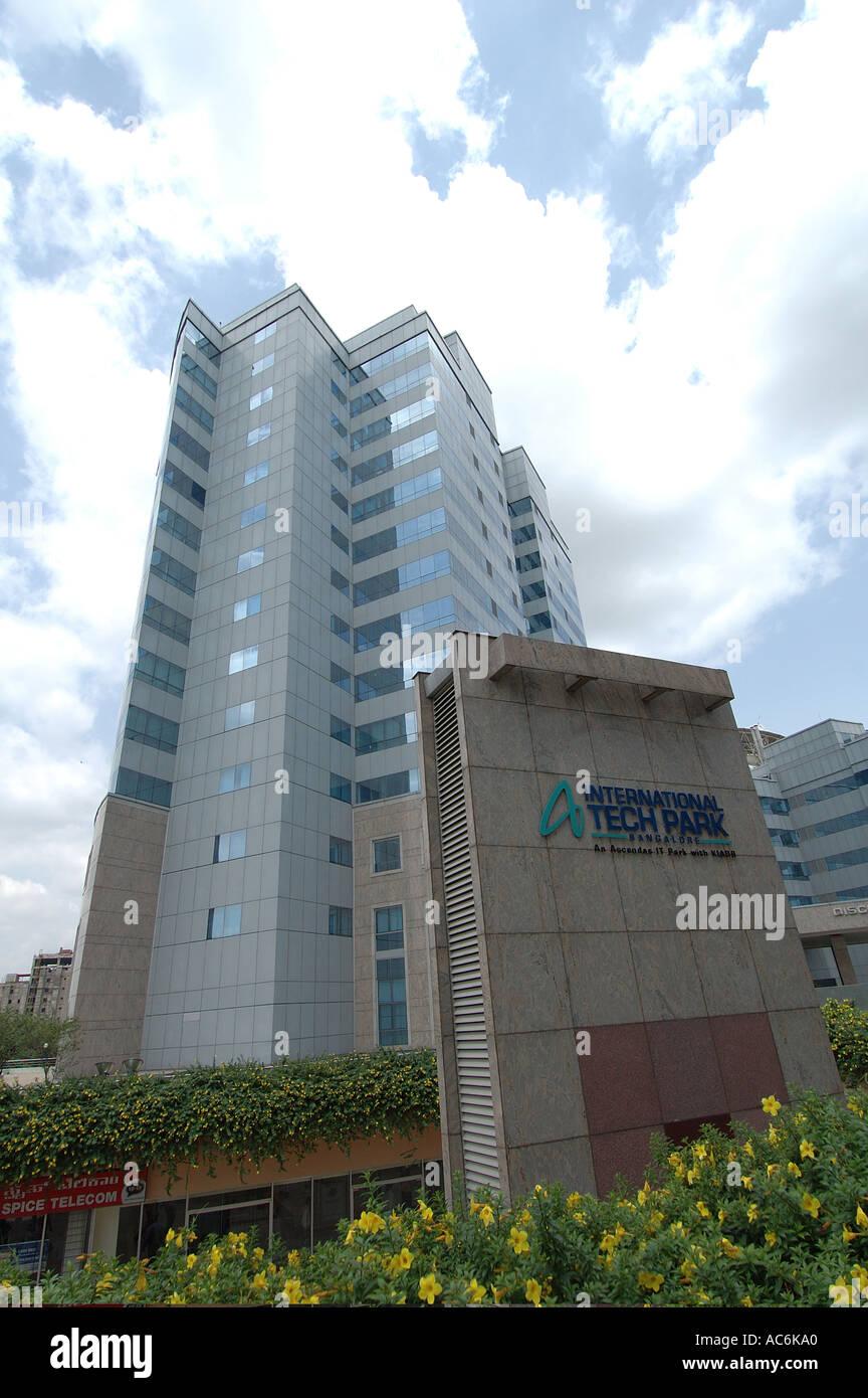 Tech International Technical Park Whitefields Bangalore in India il cuore della rivoluzione informatica in India Immagini Stock